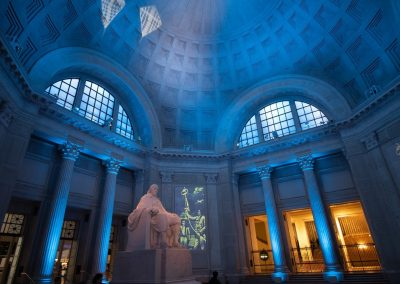 Franklin Hall at the Franklin Institute