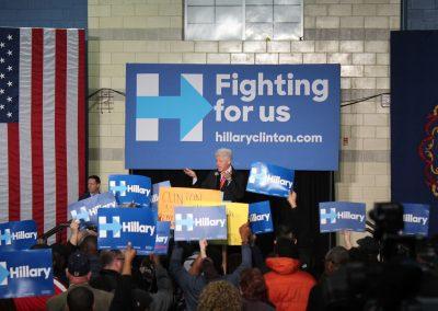 Hillary Clinton Political Rally