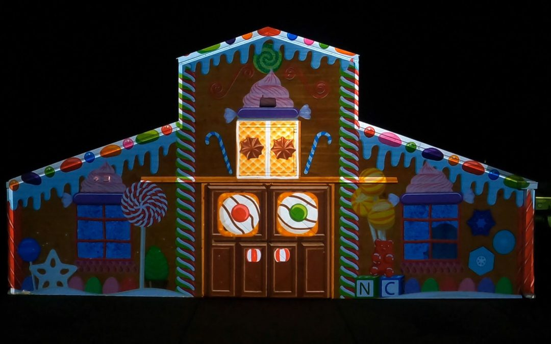 Projection Mapping: Greensboro Science Center