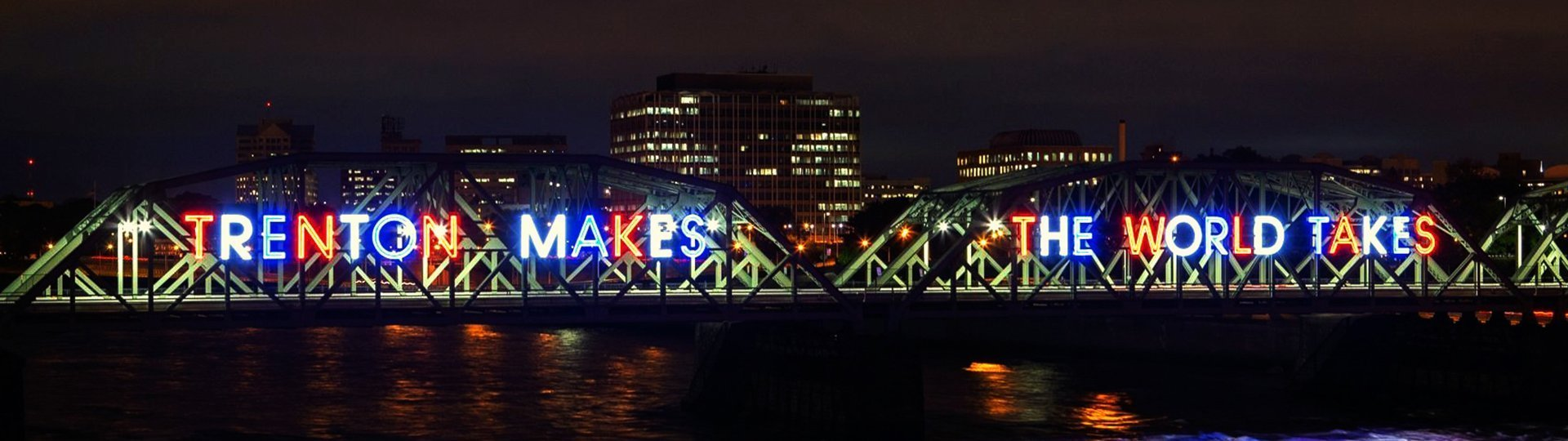 Trenton Makes Bridge Featuring New LED Lighting